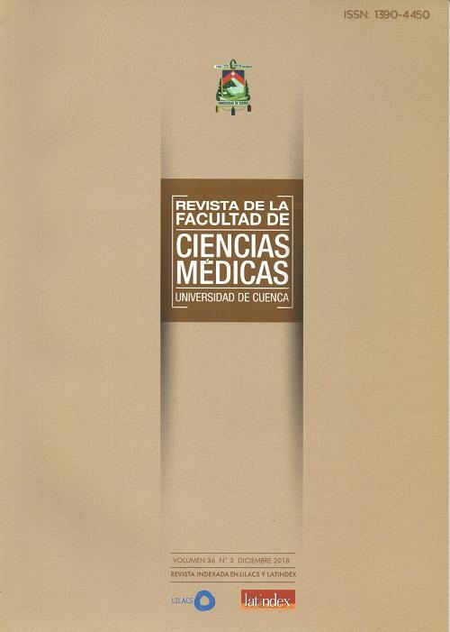 Ver Vol. 36 Núm. 3 (2018): Revista de la Facultad de Ciencias Médicas de la Universidad de Cuenca