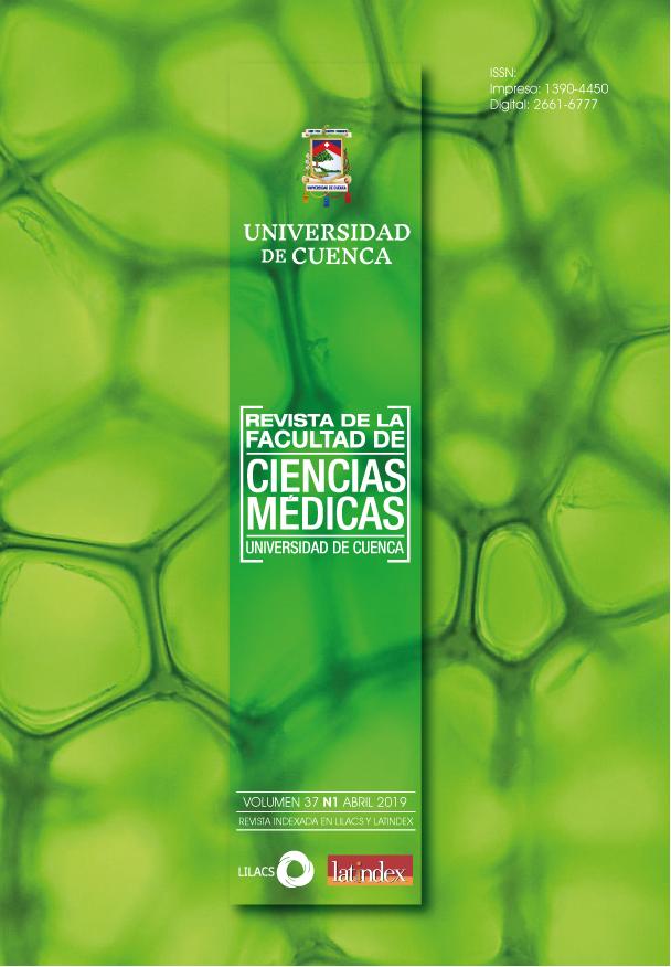 Ver Vol. 37 Núm. 1 (2019): Revista de la Facultad de Ciencias Médicas de la Universidad de Cuenca