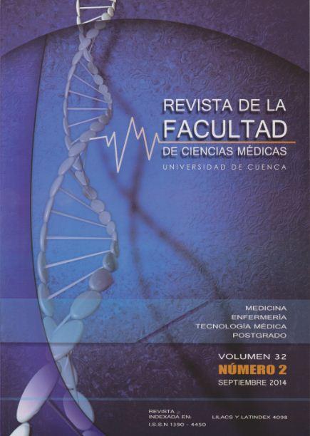 Rev. Fac. Cienc. Méd. Univ. Cuenca. Vol 32 Nº 2 Septiembre 2014